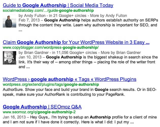 Google Authorship and Author Rank: Big for SEO in 2013 and Beyond
