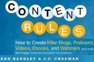 Five-Star Books: Content Rules by Ann Handley and C.C. Chapman