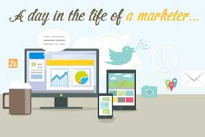 A Day in the Life of a Marketer: Take Our Poll