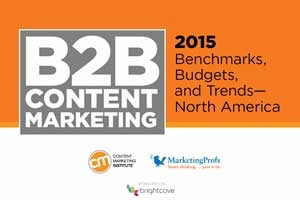 2015 B2B Content Marketing Benchmarks, Budgets, and Trends