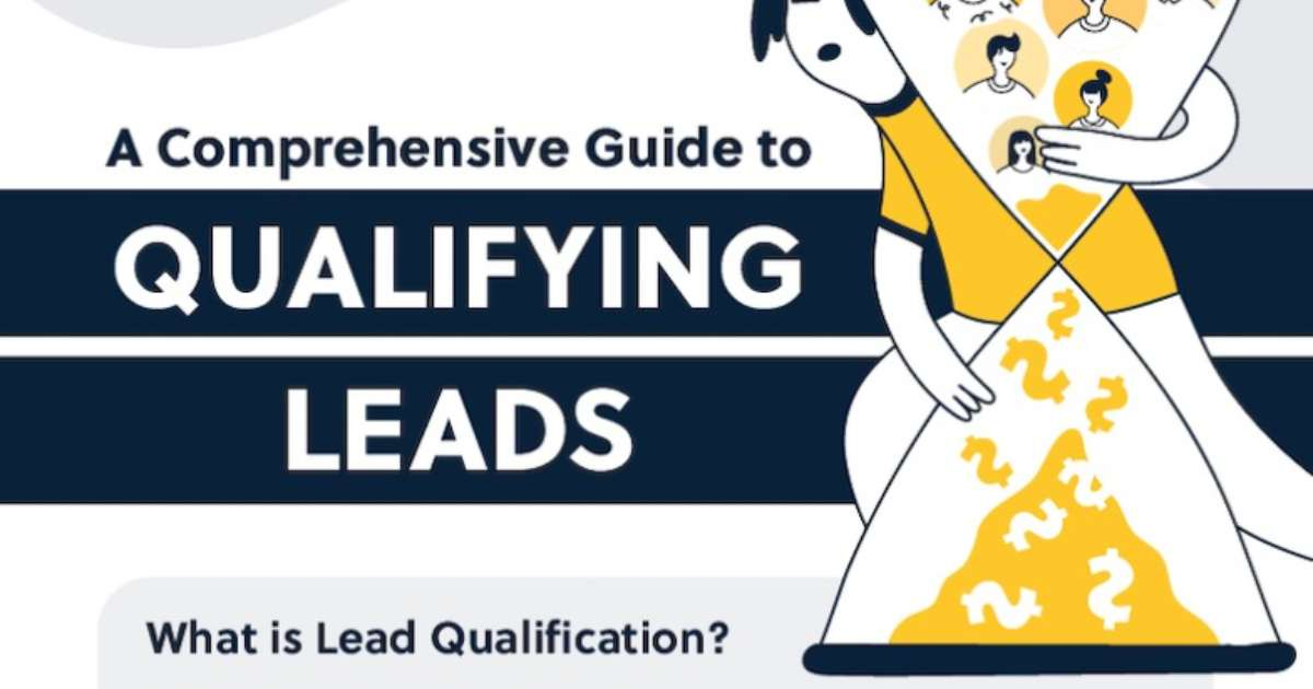 A Guide to Effectively Qualifying B2B Leads [Infographic]