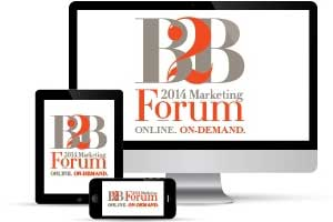2014 B2B Forum Day 1: A Sampling of Session Recaps