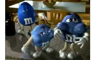 Commercial Break: M&M's Blue