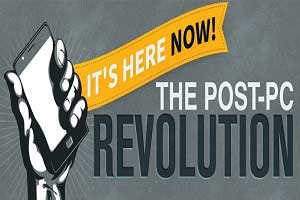 The Post-PC Revolution [Infographic]