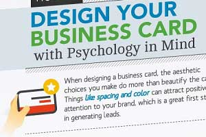 How to Design Your Business Card With Psychology in Mind [Infographic]