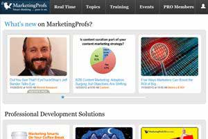 Why We Blew Up the MarketingProfs Homepage: Behind the Scenes
