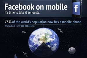 Your Facebook... on Mobile: A Sign of Things to Come [Infographic]