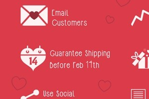 Valentine's Day E-Commerce Tips [Infographic]