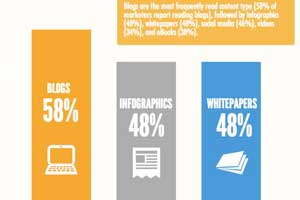 The Content Habits of B2B Enterprise Marketers [Infographic]