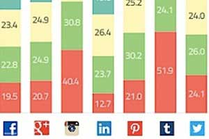 User Age Profiles of the Top Social Networks