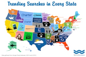 The Top Trending Searches in Each US State