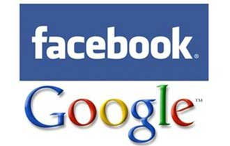 Facebook Top Search Term, Google Top Site