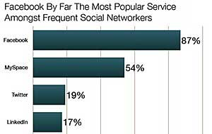 Frequent Social Network Users Profiled