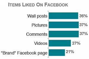 Branded Facebook Pages 'Liked' by Few Web Users