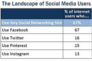 Social Network Demographics: Twitter, Pinterest, Instagram, Facebook
