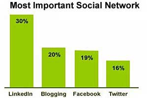 B2B Social Marketing Growing, LinkedIn Top Channel