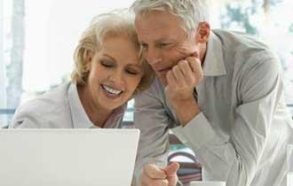 Seniors Flock Online, Love Facebook