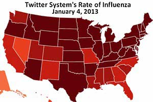 Twitter Delivering Real-Time Insights Into Flu Patterns
