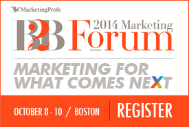 Don't miss the best B2B event this year. Register today!