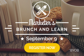 Marketer�s Brunch & Learn