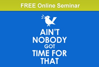 Ain't Nobody Got Time for That: Visual Sketchnotes and Lessons From Our Most Popular MarketingProfs Seminar