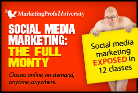 Advanced social media marketing techniques laid bare. Definitely not your father's social media marketing course!