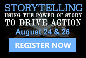 Unleash the power of storytelling during this two-day virtual workshop!