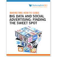 Big Data and Social Advertising: Finding the Sweet Spot