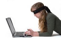 The Blind Tweeting the Blind