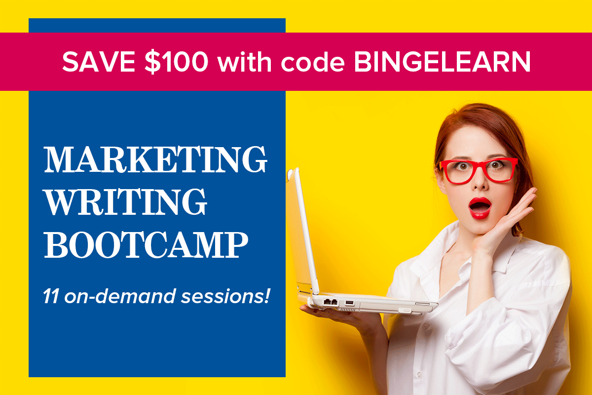 Marketing Writing Bootcamp