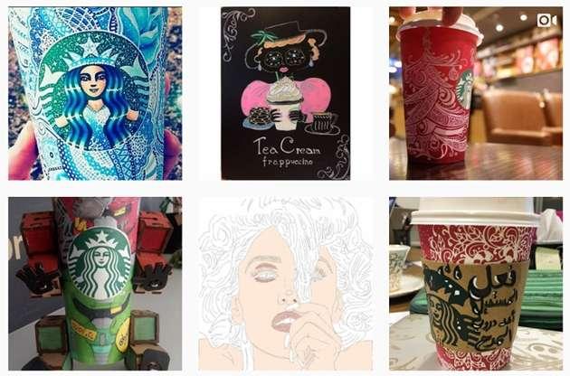 Starbucks design contest examples