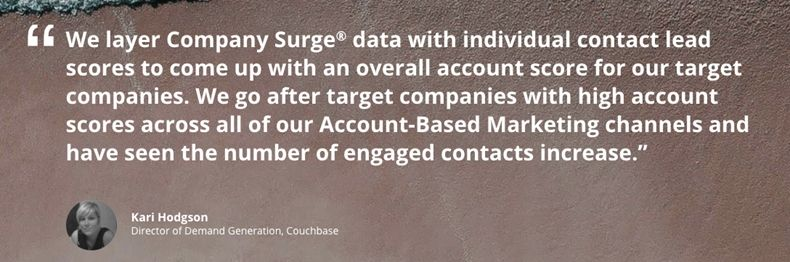 Intent Data Maximizes Marketing Budgets and Enhances Sales Performance 1