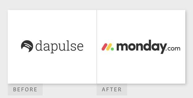 Dapulse rebrand to Monday.com
