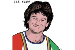 #SocialSkim: Robin Williams, Promoted Tweets, a Viral Challenge, Cozying Up to Business, More...