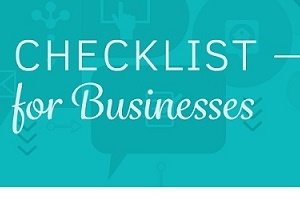 A Sensible Social Media Checklist for Businesses [Infographic]