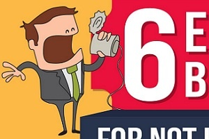 Six Excuses Small Businesses Make for Not Having a Website [Infographic]