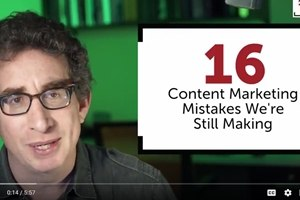Marketing Video: 16 Easy Ways to Fail at Content Marketing