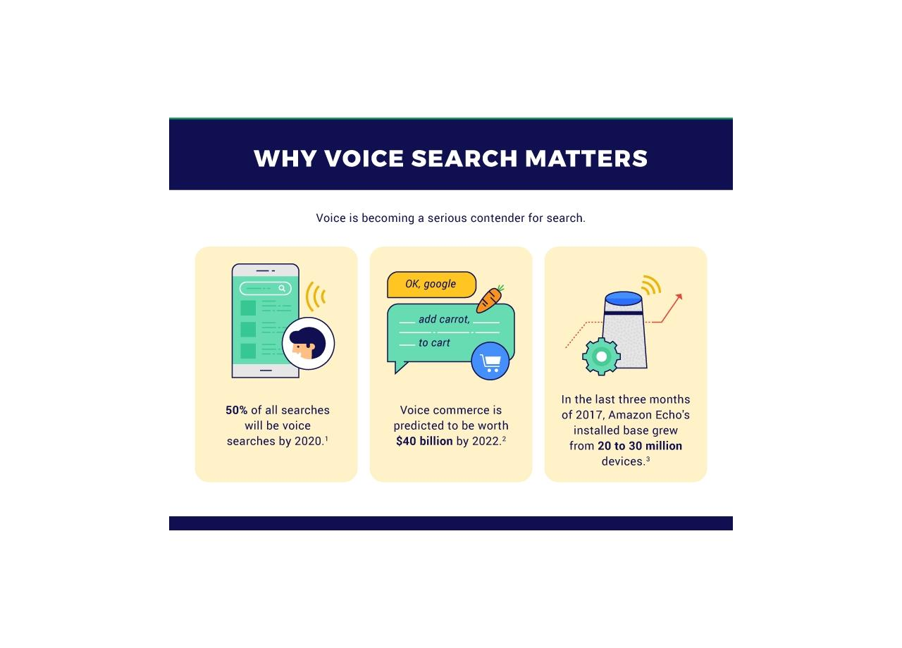 How to Optimize Your Site for Voice Search: A Comprehensive Guide [Infographic]