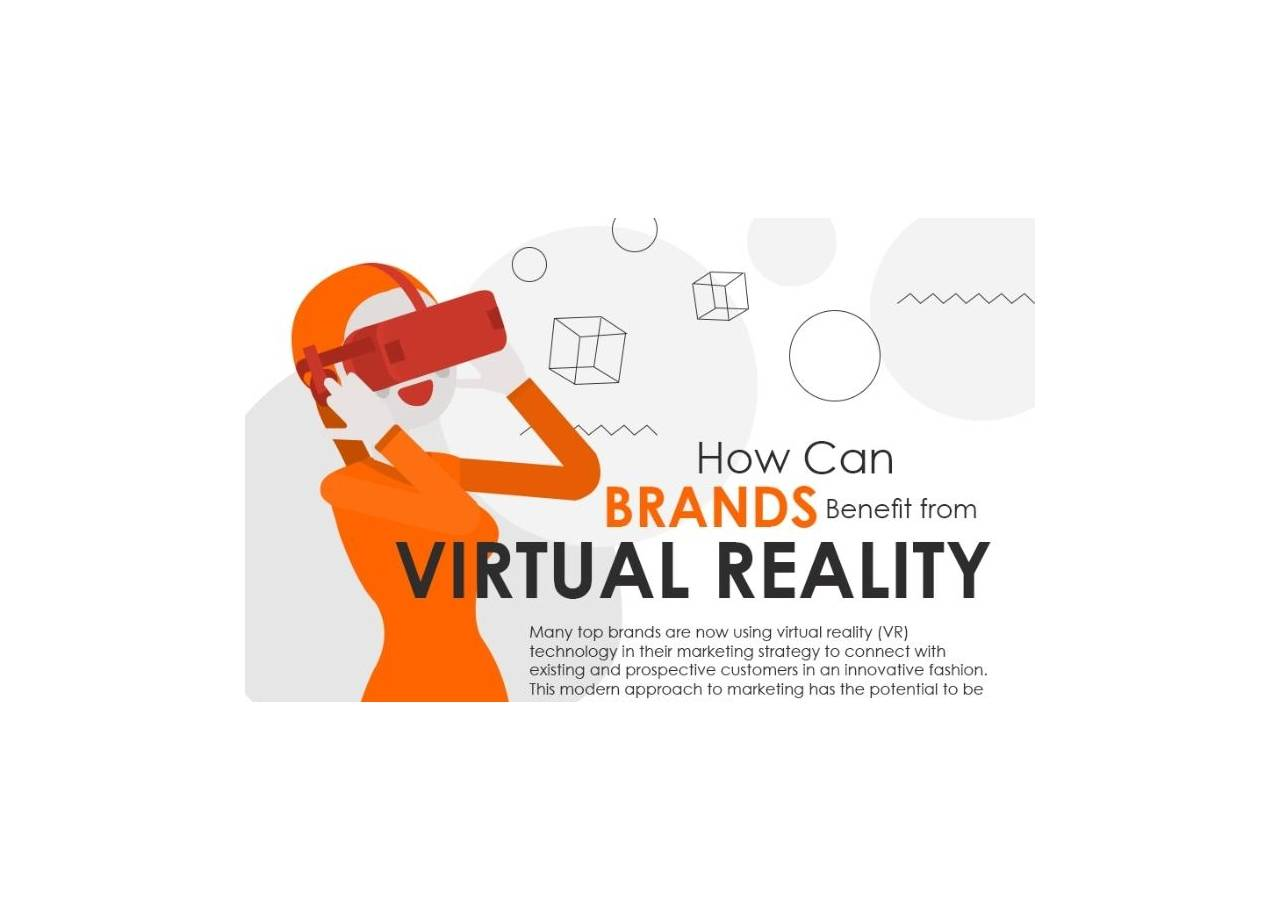 How Brands Benefit by Using Virtual Reality to Engage Customers [Infographic]
