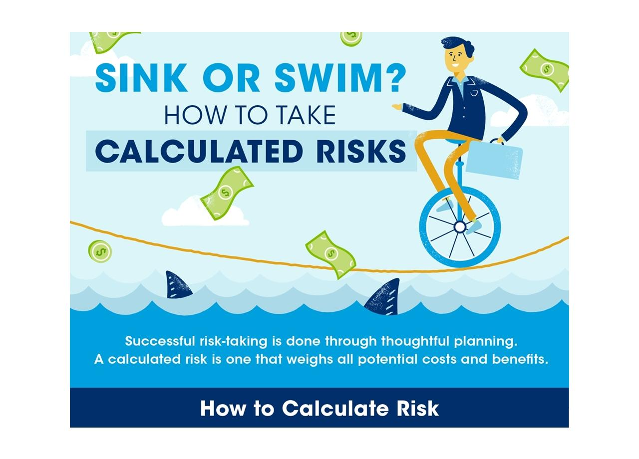 How to Take Calculated Risks [Infographic]