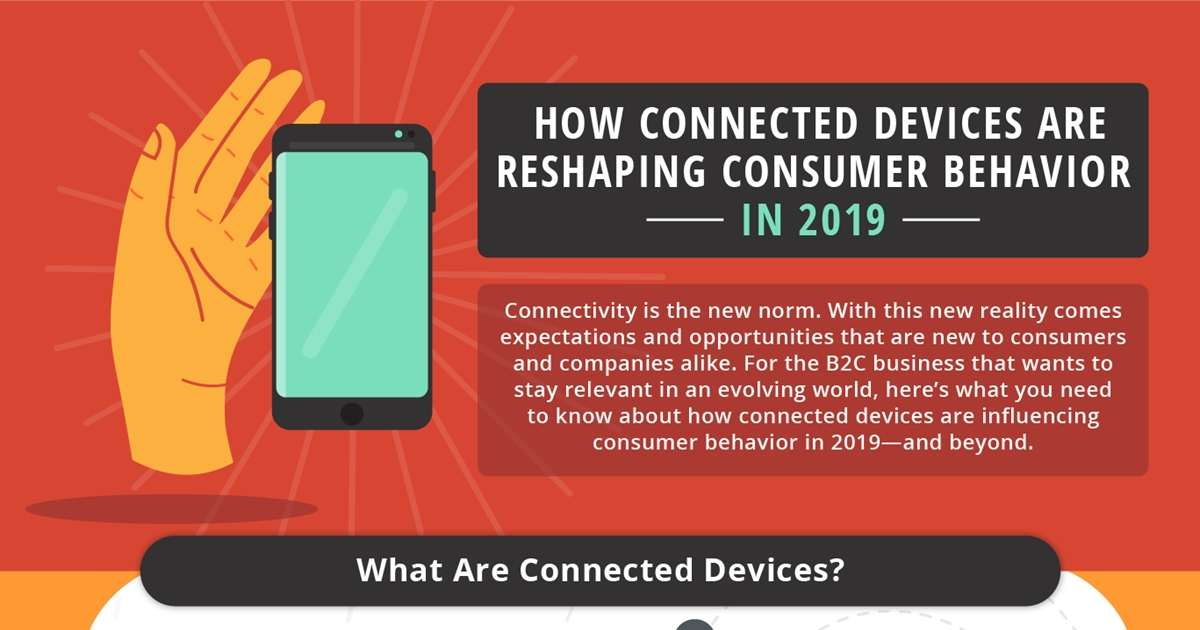 How Connected Devices Are Reshaping Consumer Behavior in 2019 [Infographic]