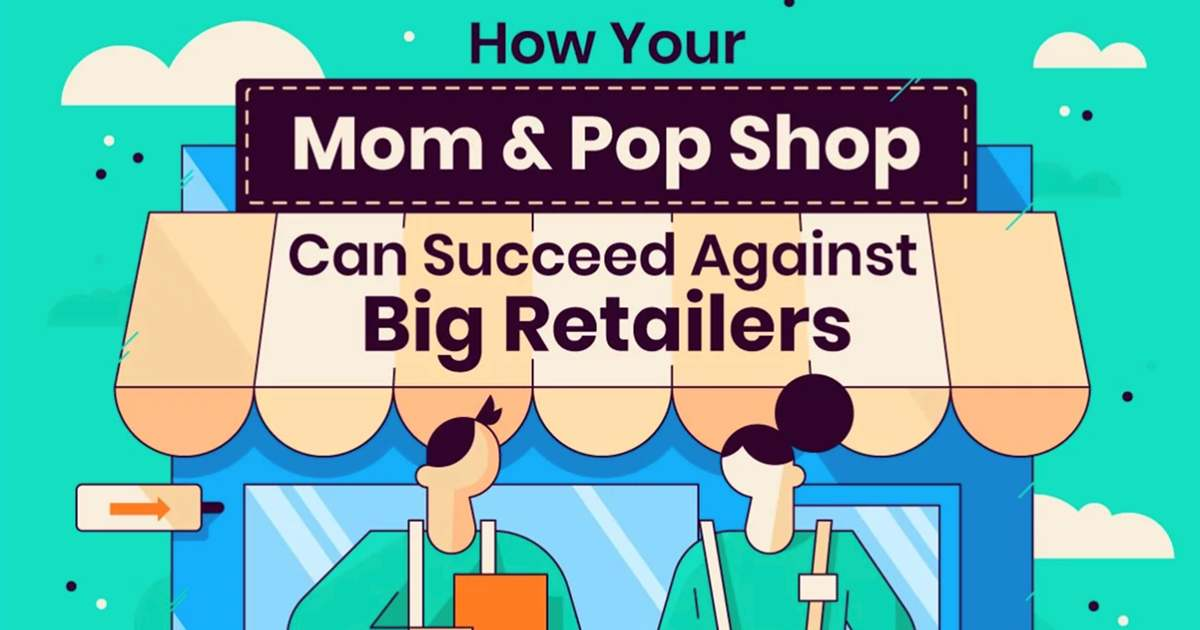Image for How Mom-and-Pop Shops Can Succeed Against Big Retailers [Infographic]