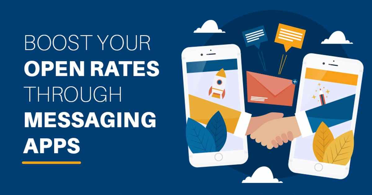 Boost Your Open Rates With Messaging Apps [Infographic]