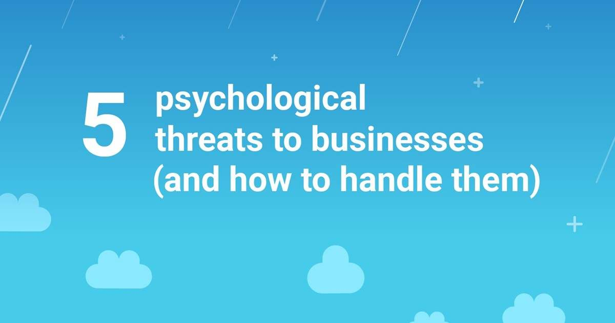 Image for Five Psychological Threats to Businesses (And How to Handle Them) [Infographic]