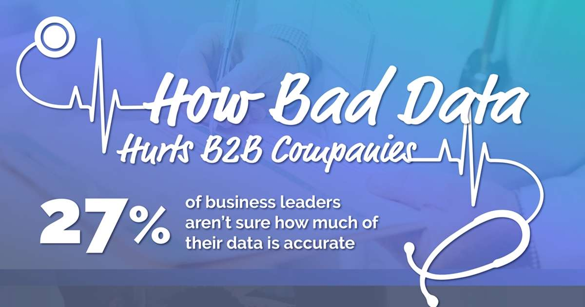 How Bad Data Hurts B2B Companies [Infographic]