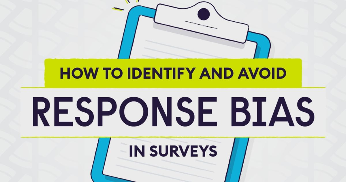 Image for How to Identify and Avoid Survey Response Bias [Infographic]