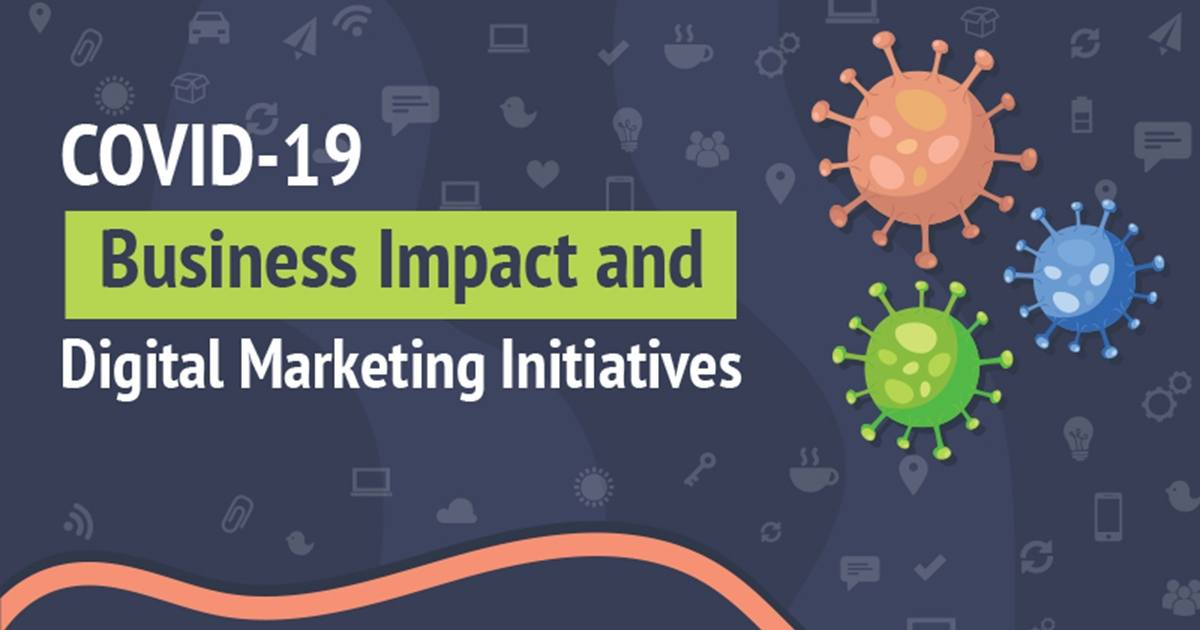 COVID-19 Impact on Business, and Digital Marketing Initiatives [Infographic]