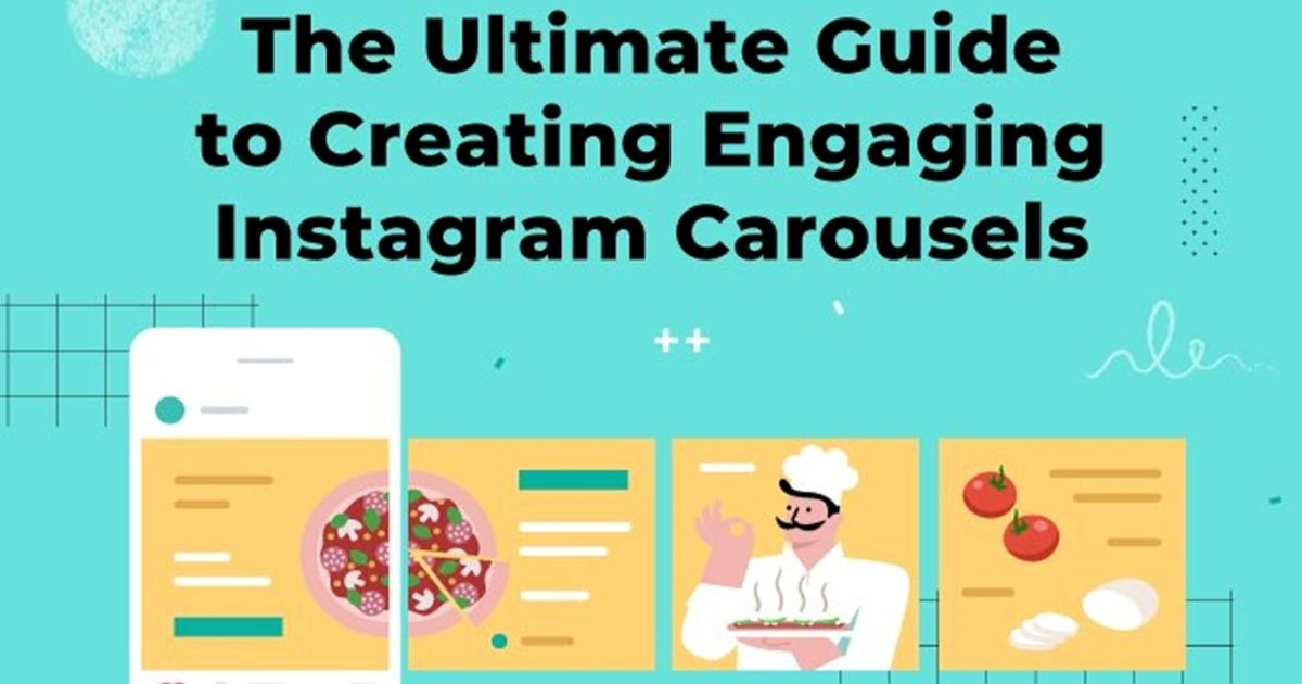 How to Create Engaging Instagram Carousel Posts [Infographic]