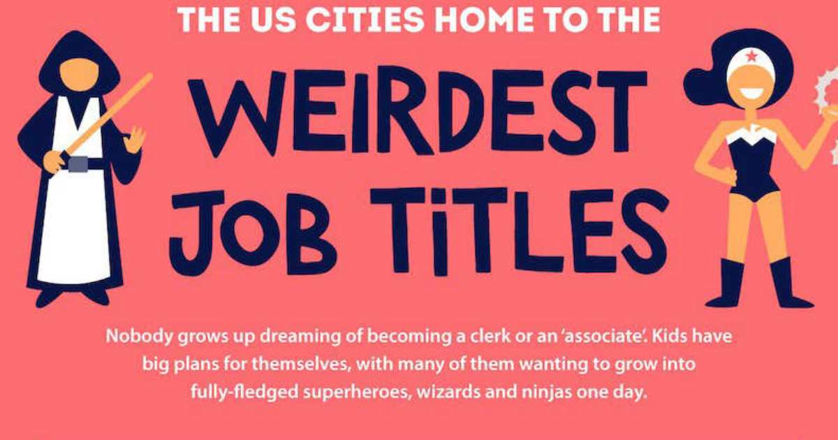 Where the Ninjas Are: US Cities With the Weirdest Job Titles [Infographic]