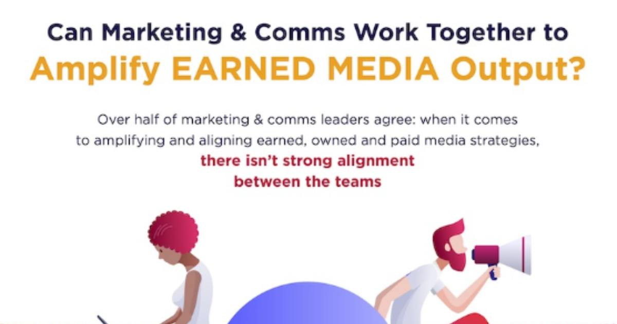 How Marketing and Comms Can Team Up on Earned Media [Infographic]